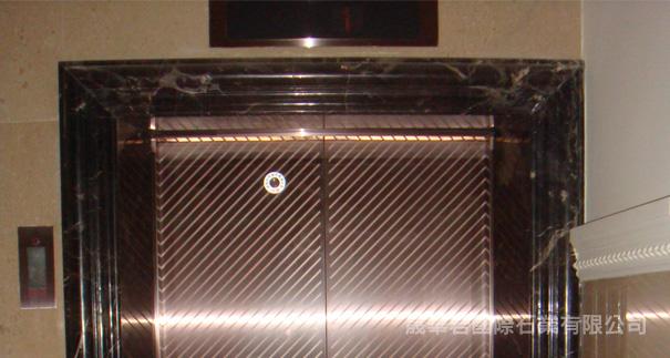 黑金锋电梯框